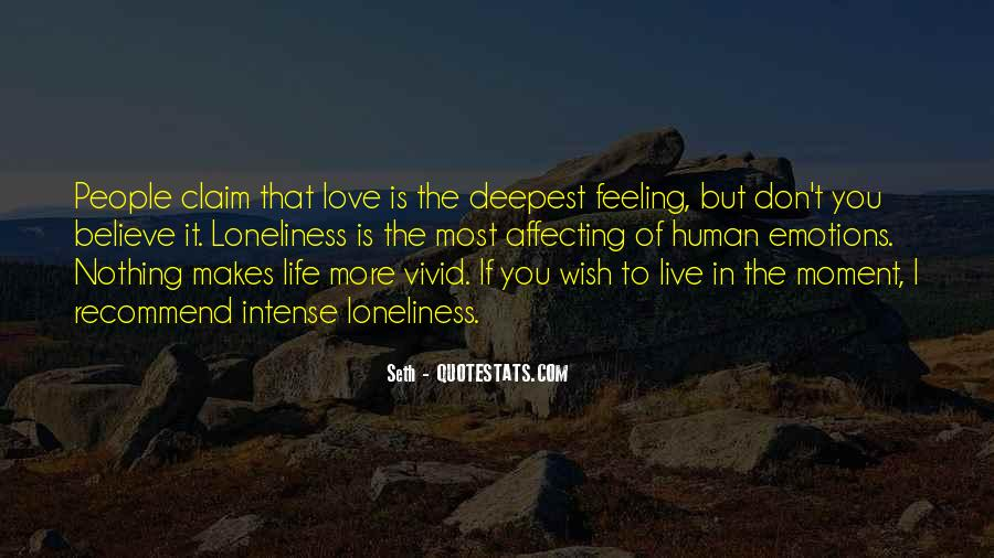 Affecting Love Quotes #1221514