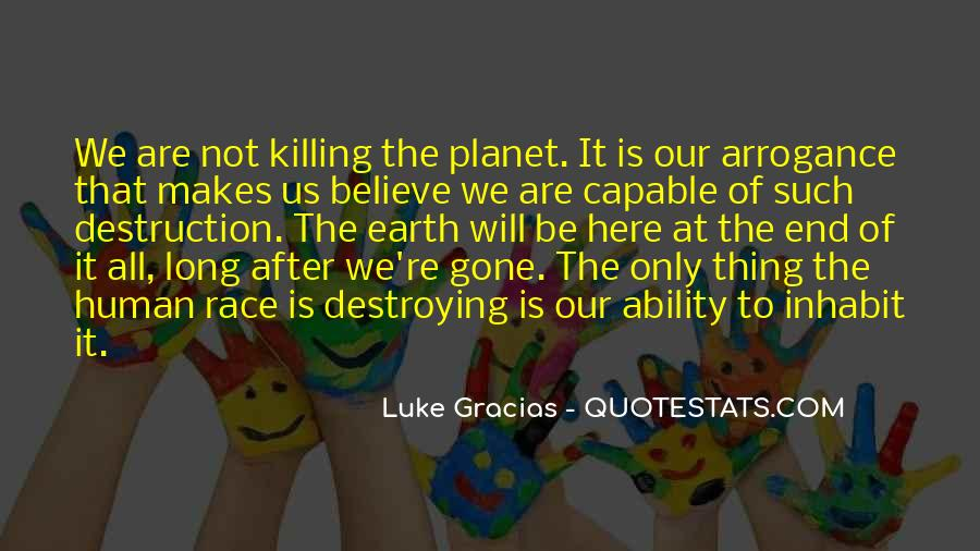 After Earth Quotes #15676