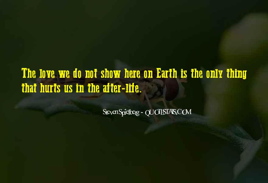 After Earth Quotes #20594