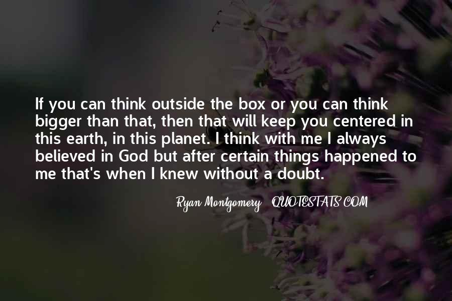 After Earth Quotes #39433