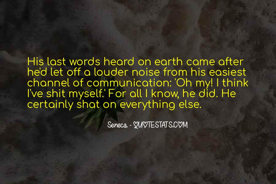 After Earth Quotes #716334