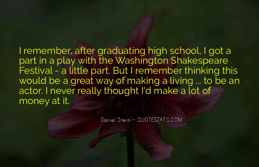 After Graduating High School Quotes #1410284