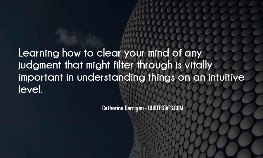 Quotes About Things On Your Mind #1407230