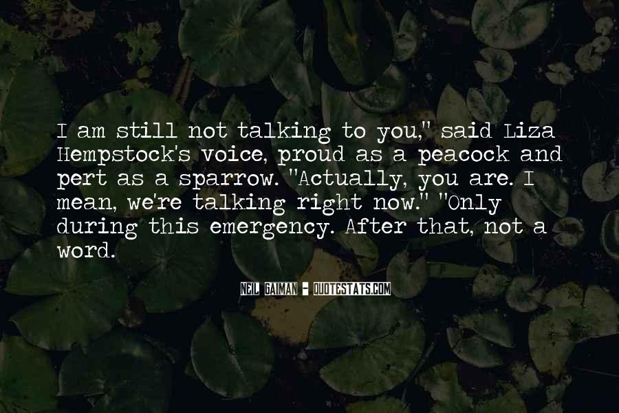 After Talking To You Quotes #1078270