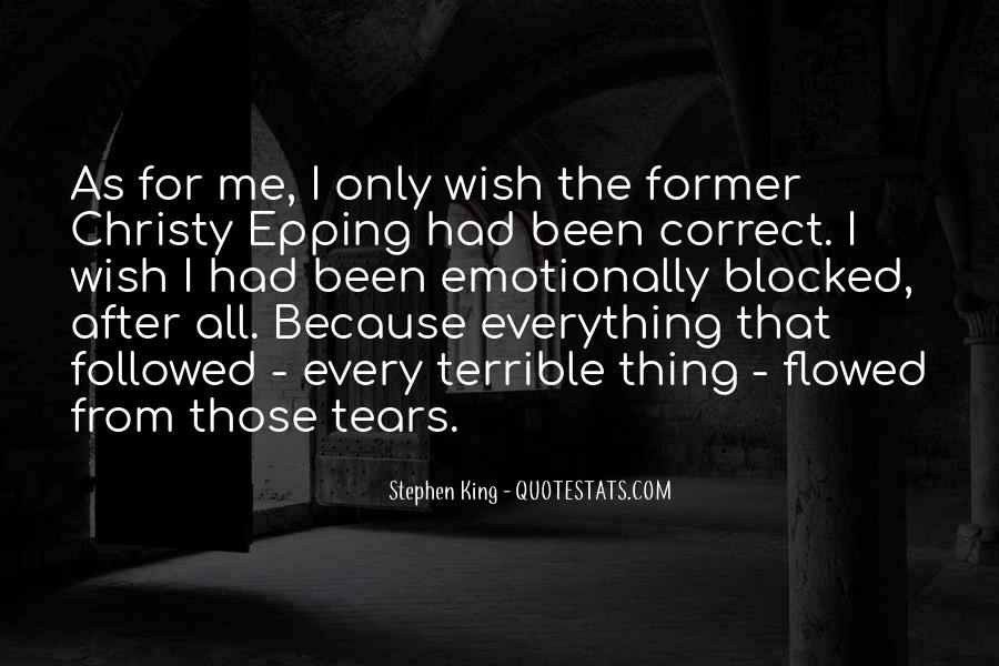 After The Tears Quotes #1195523