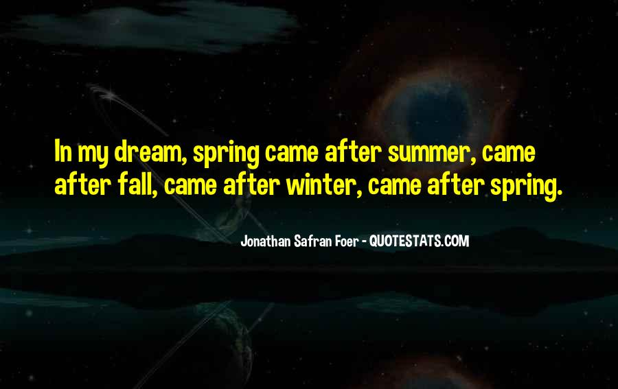 After Winter Fall Quotes #271055