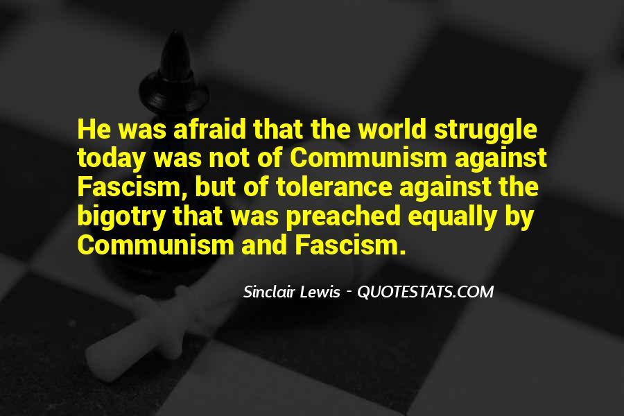 Against Fascism Quotes #1495442