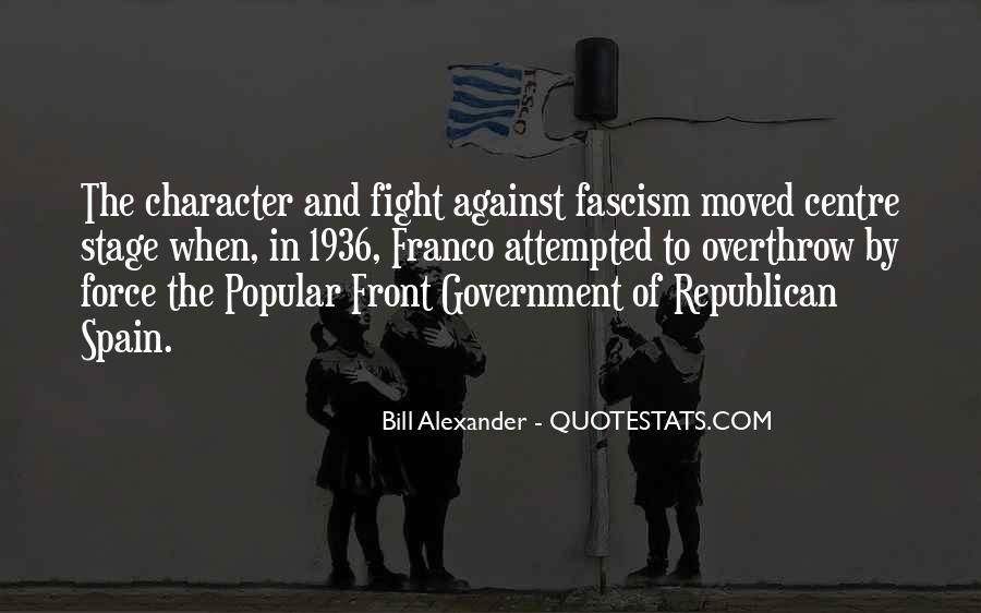 Against Fascism Quotes #1860701