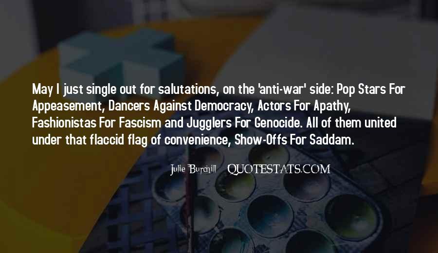 Against Fascism Quotes #27387
