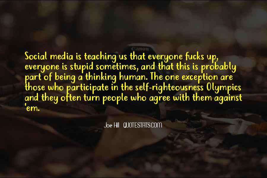 Against Social Media Quotes #1374685