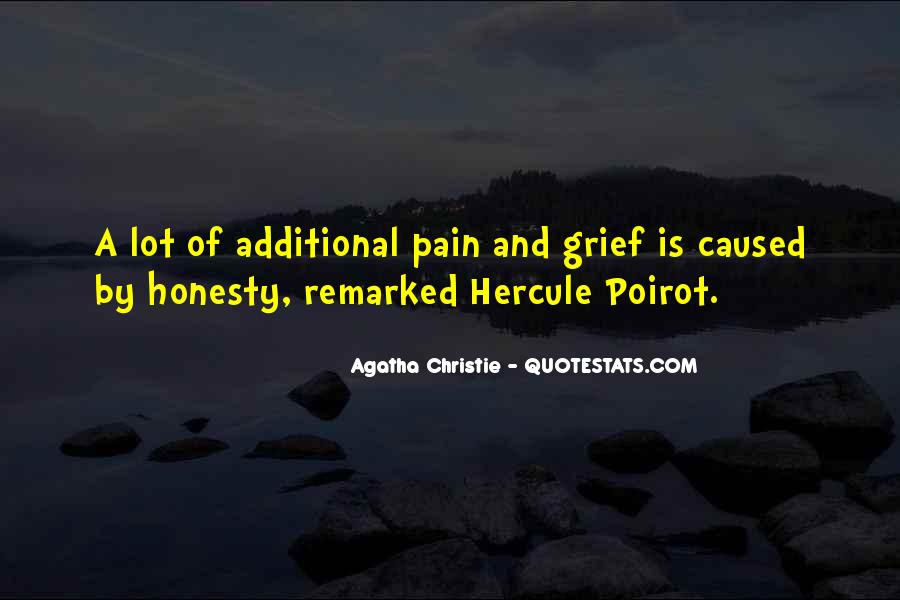 Agatha Christie Poirot Quotes #119484