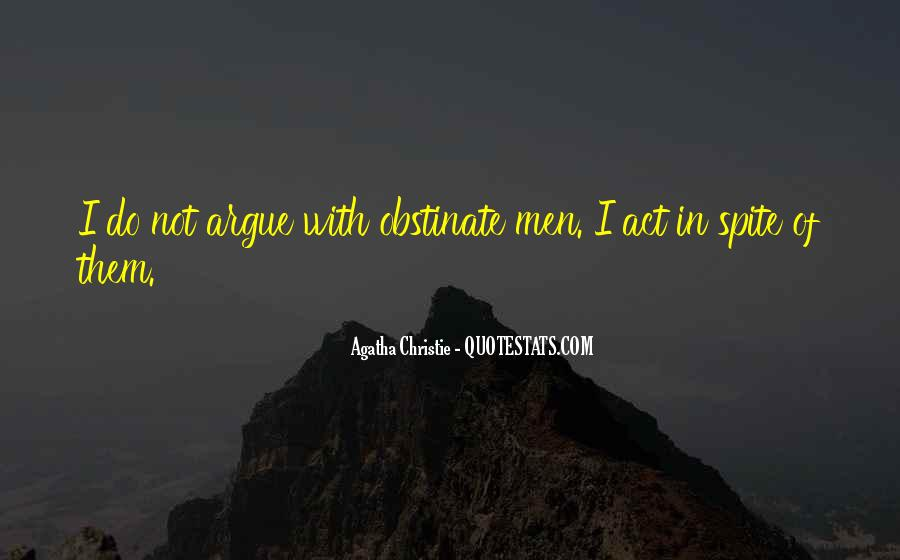 Agatha Christie Poirot Quotes #1275500