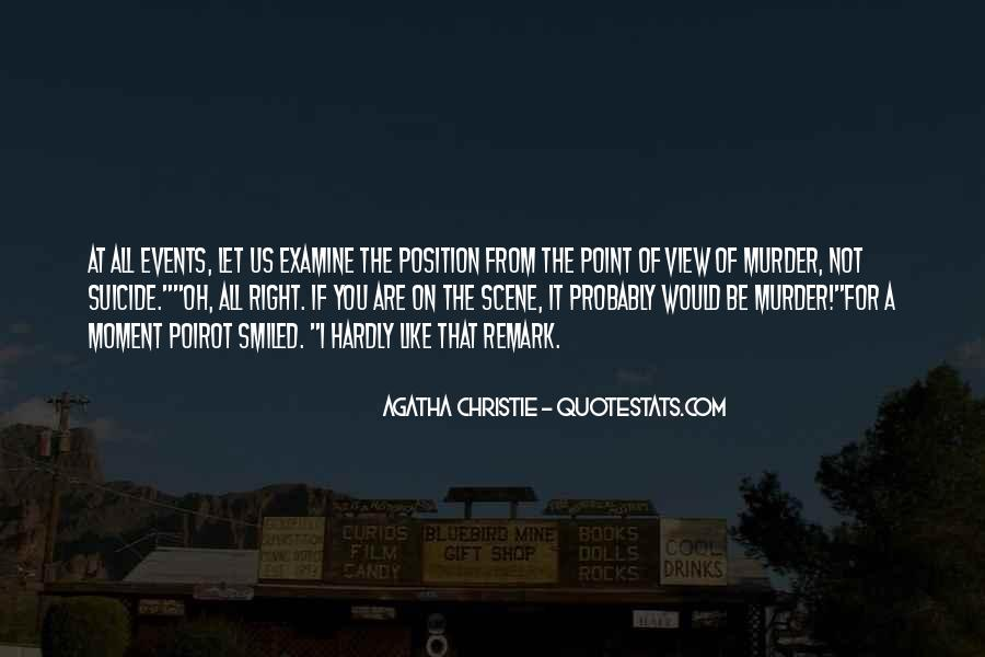 Agatha Christie Poirot Quotes #1320707
