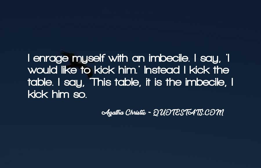 Agatha Christie Poirot Quotes #1468471
