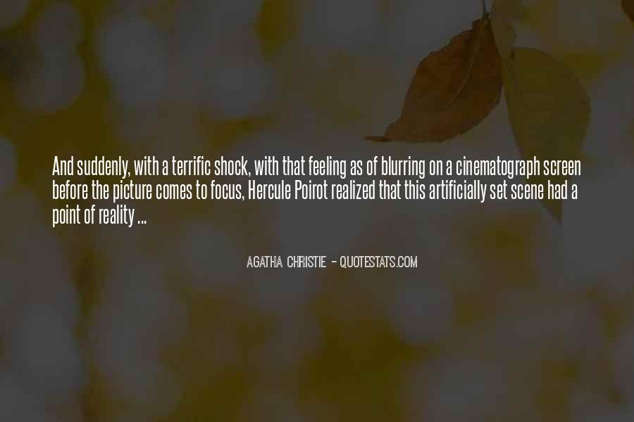 Agatha Christie Poirot Quotes #191401
