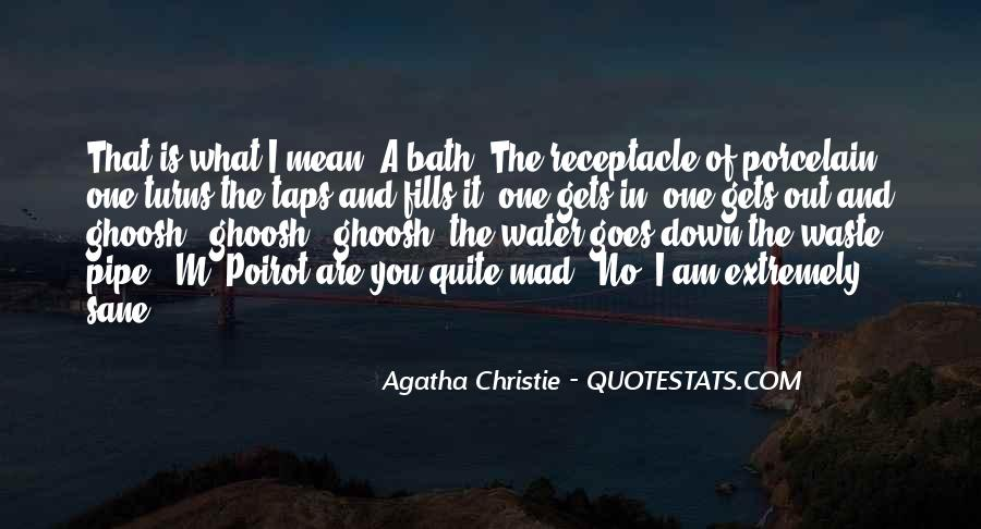Agatha Christie Poirot Quotes #319395