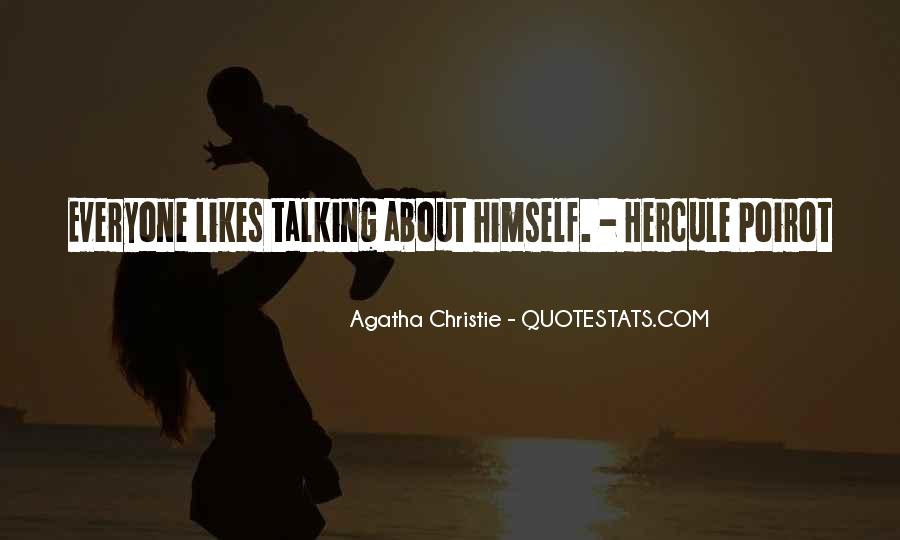 Agatha Christie Poirot Quotes #37831