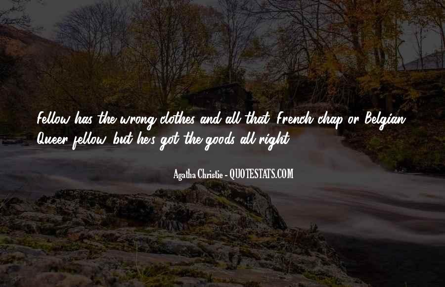 Agatha Christie Poirot Quotes #423761