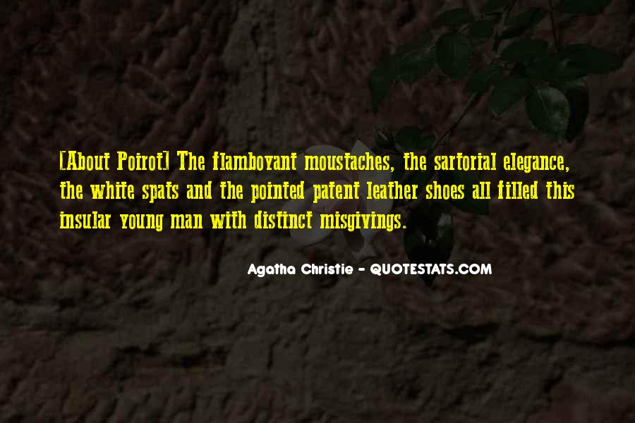 Agatha Christie Poirot Quotes #635238