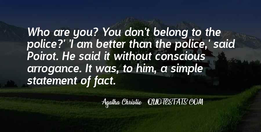 Agatha Christie Poirot Quotes #751713