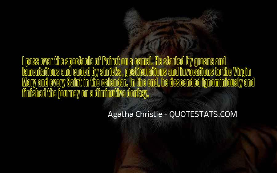 Agatha Christie Poirot Quotes #790334
