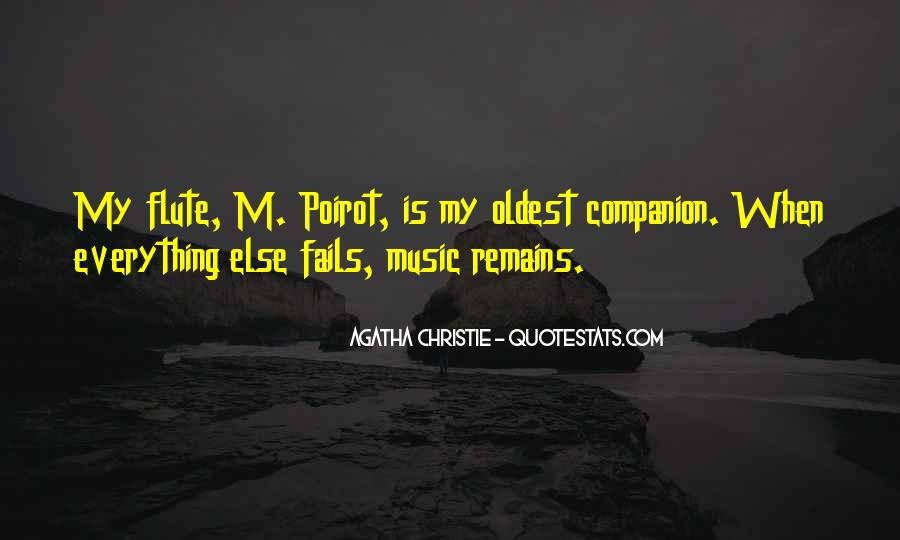 Agatha Christie Poirot Quotes #984318