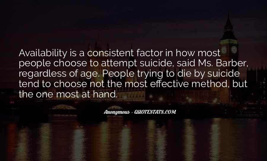 Age Factor Quotes #1534159