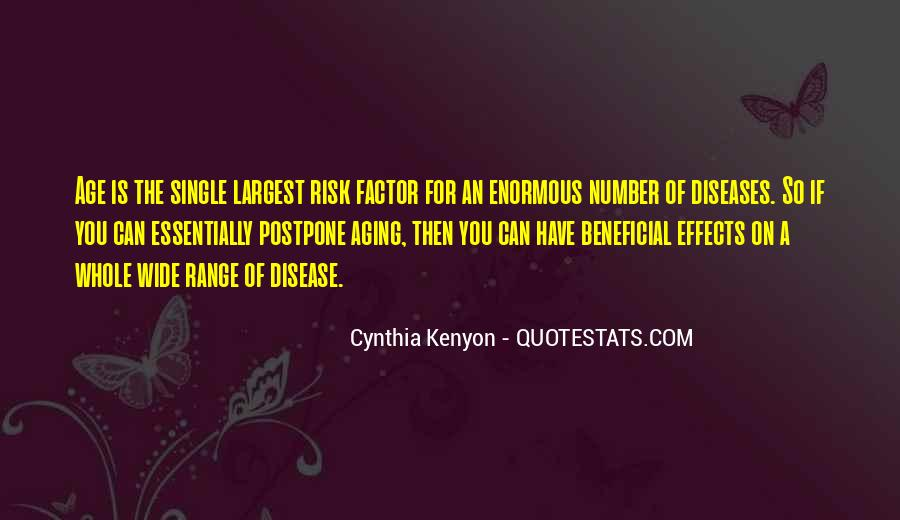 Age Factor Quotes #210648