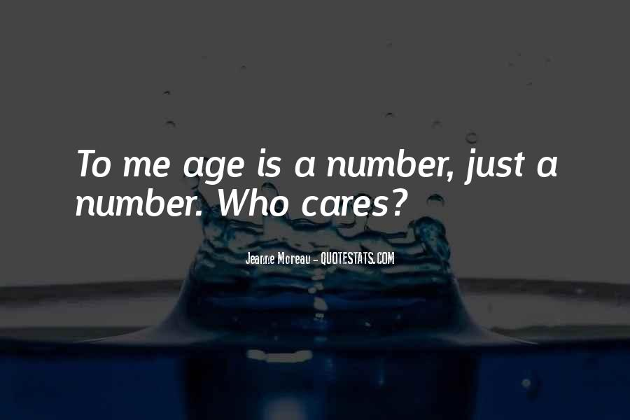 Age Is Just But A Number Quotes #139564