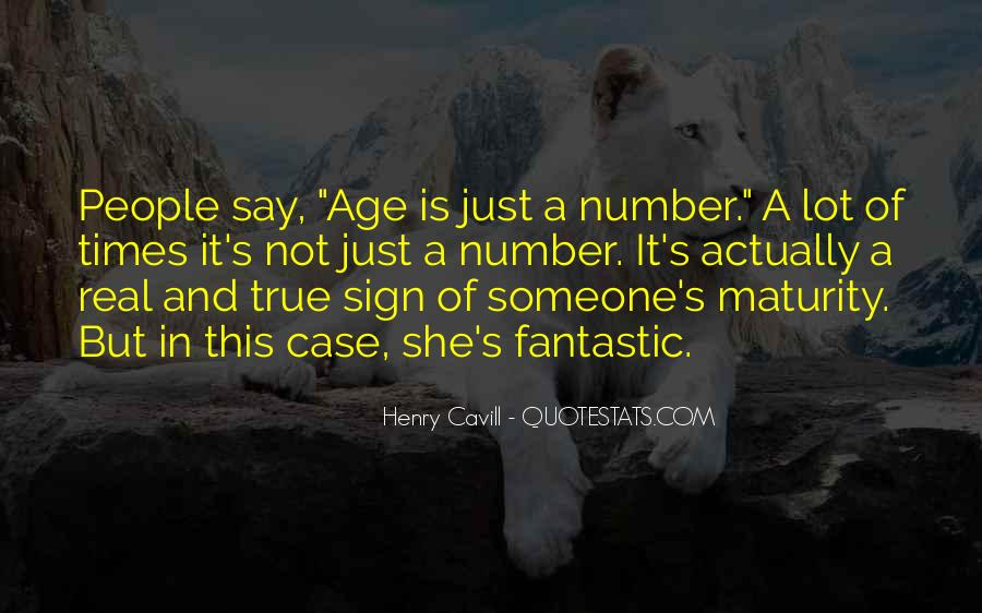 Age Is Just But A Number Quotes #183559
