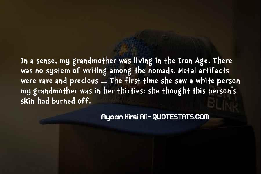 Age Of Iron Quotes #1104894
