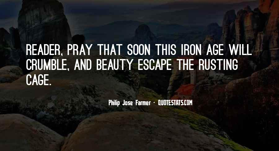 Age Of Iron Quotes #1252158
