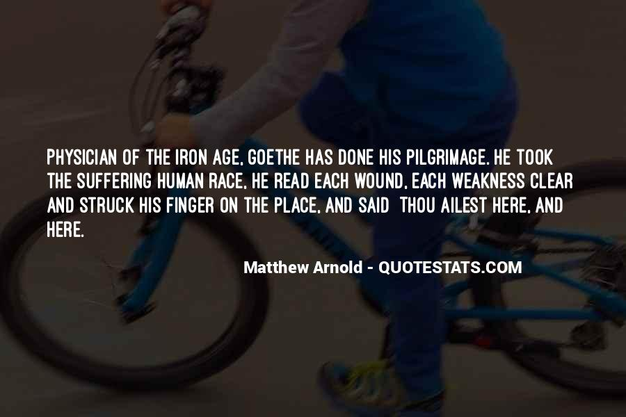 Age Of Iron Quotes #879320