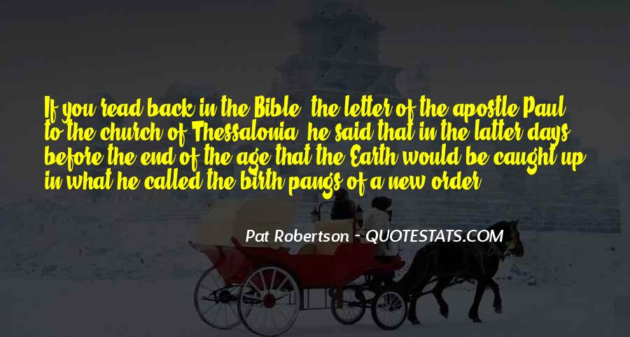 Age Of The Earth Quotes #1146726