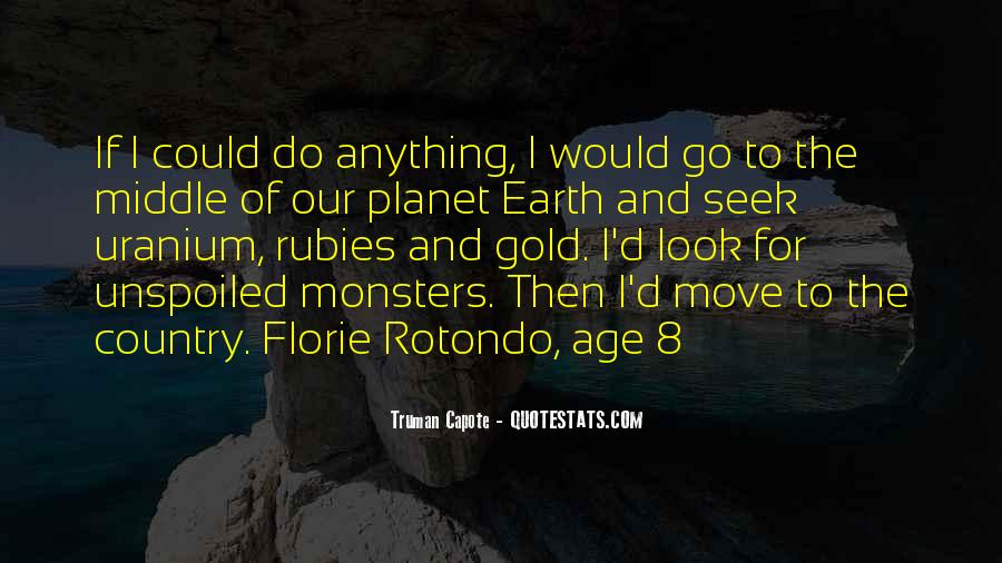 Age Of The Earth Quotes #1252402