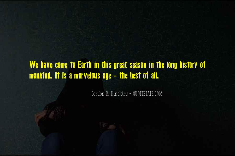 Age Of The Earth Quotes #1716636