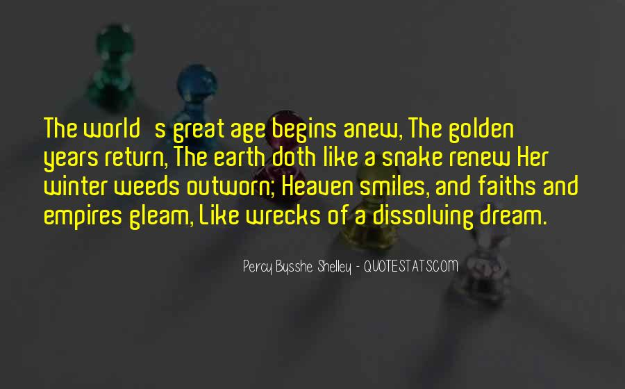 Age Of The Earth Quotes #802276