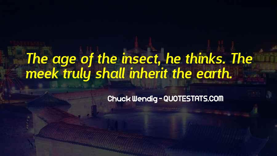 Age Of The Earth Quotes #963398