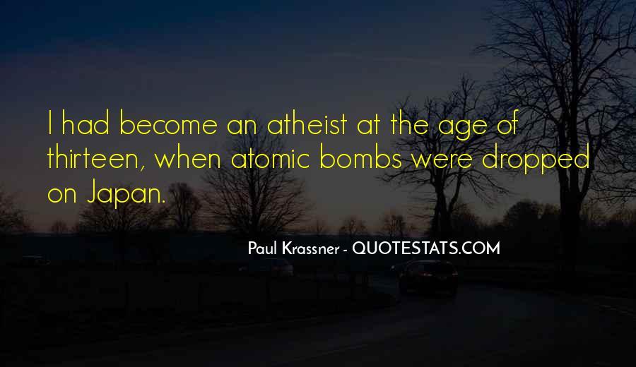 Age Thirteen Quotes #263858