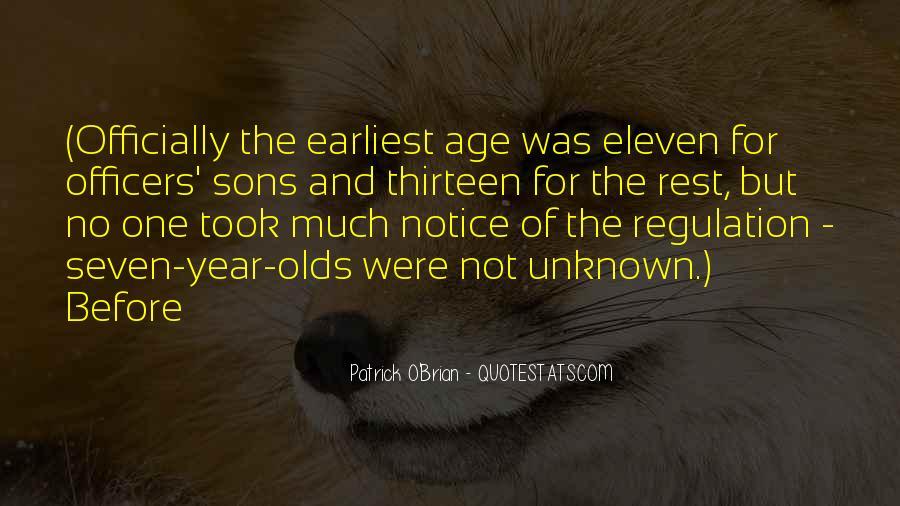 Age Thirteen Quotes #424468