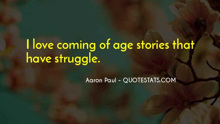 Age Vs Love Quotes #44749