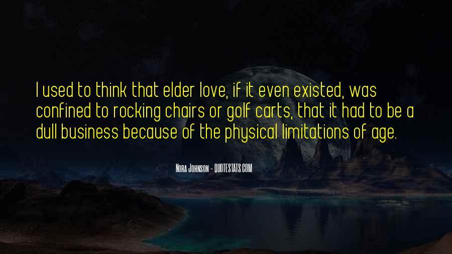 Age Vs Love Quotes #81017