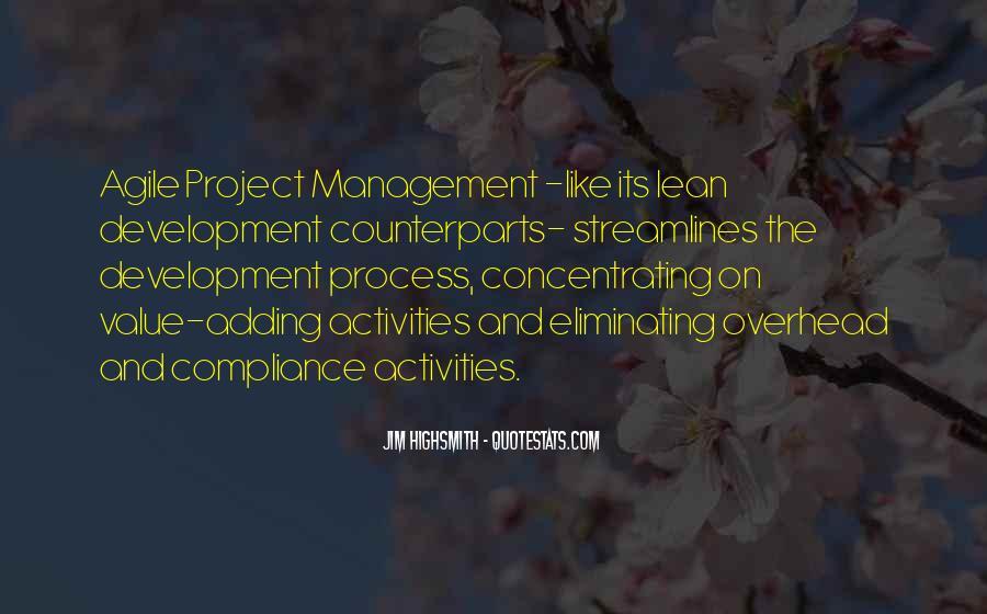 Agile Process Quotes #311815