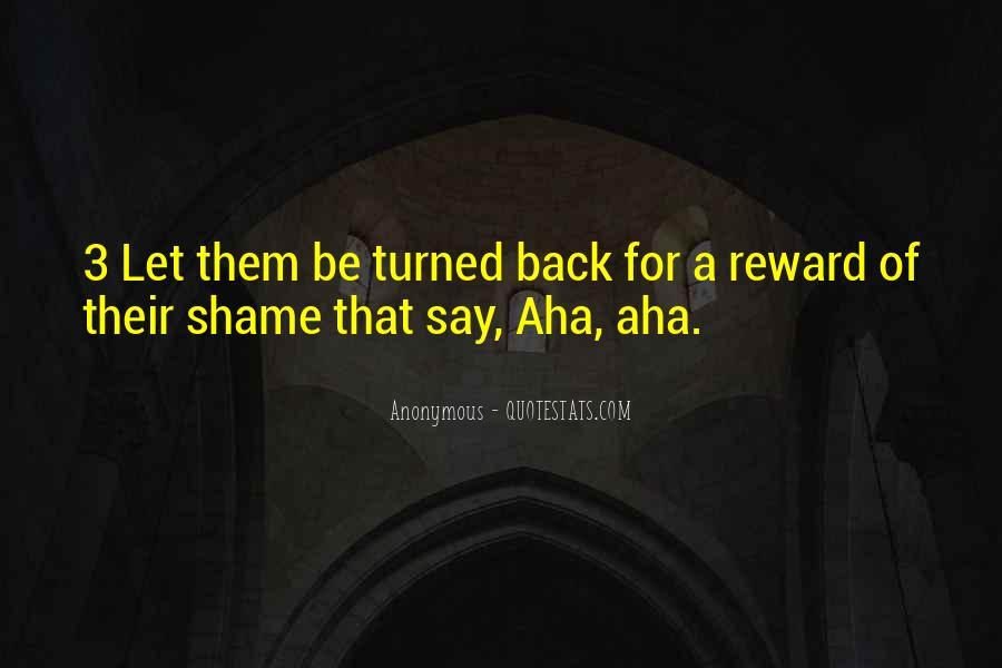 Aha Quotes #1129464