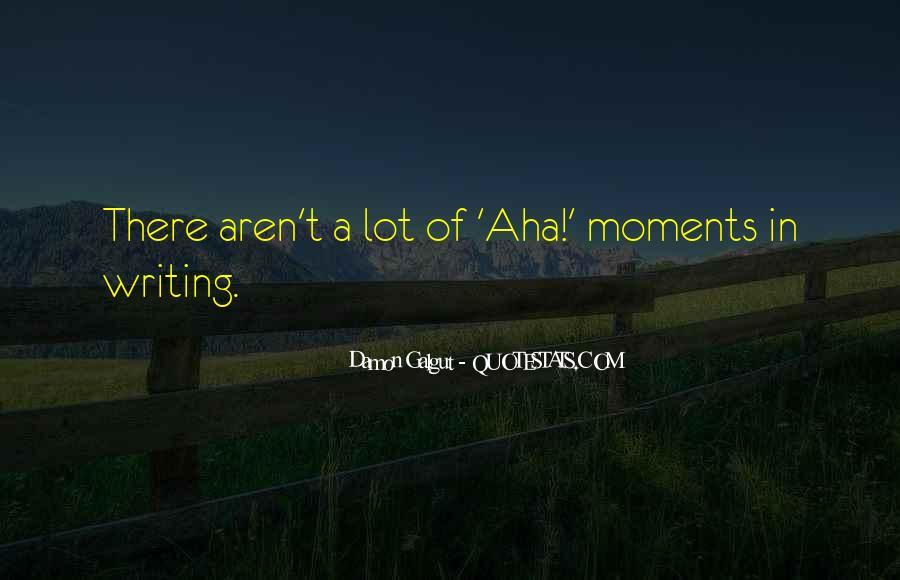 Aha Quotes #365912