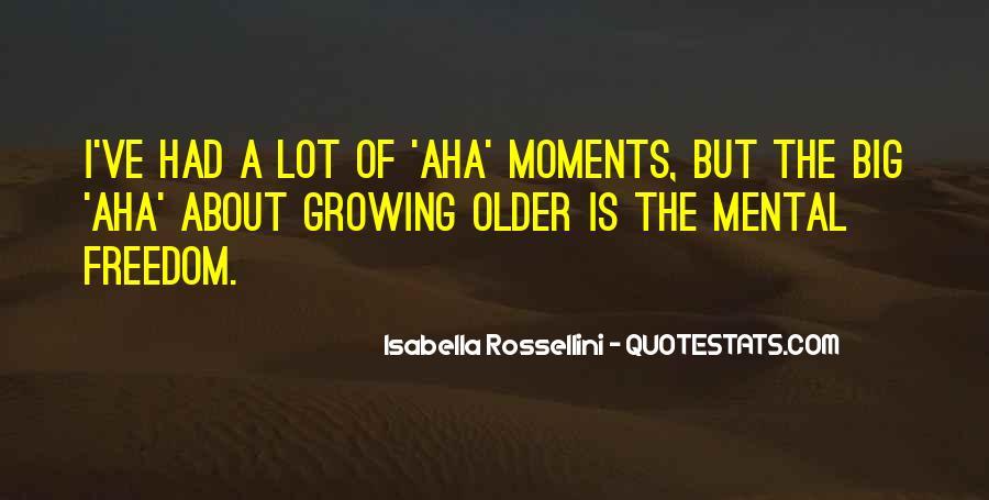 Aha Quotes #619312