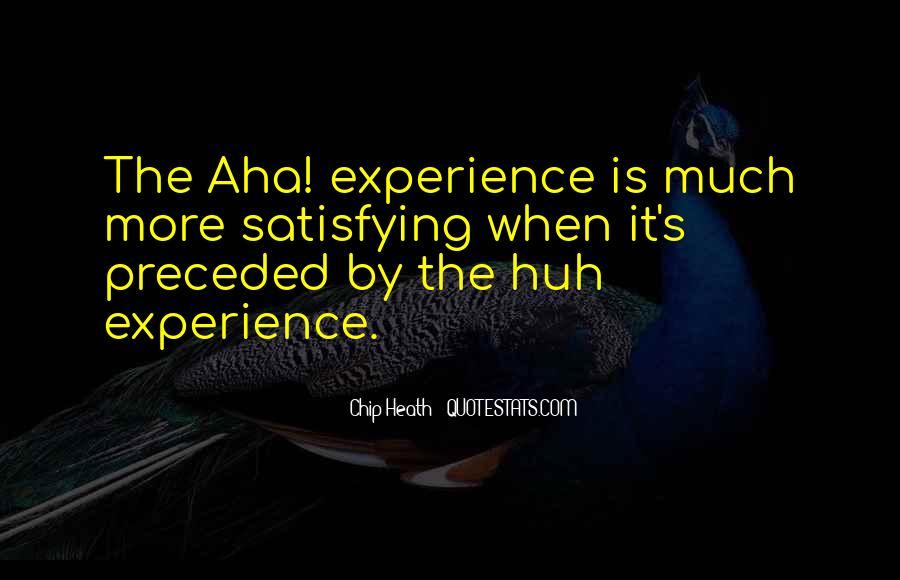 Aha Quotes #669876