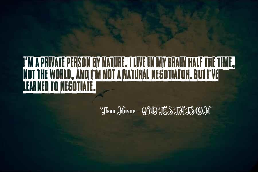 Quotes About Negotiate #107596