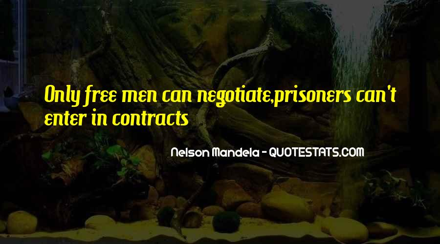 Quotes About Negotiate #139093