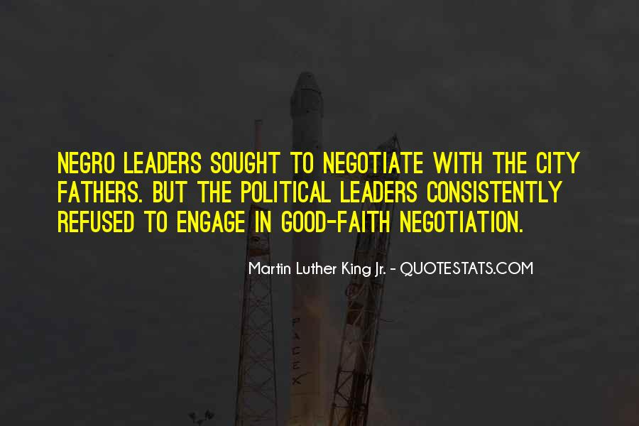 Quotes About Negotiate #179505